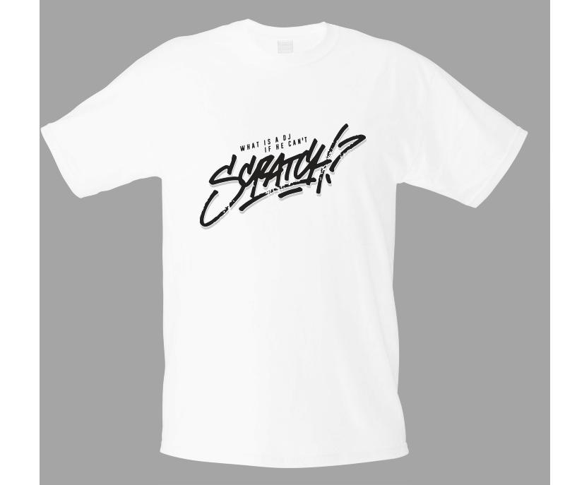 T shirt SCRATCH