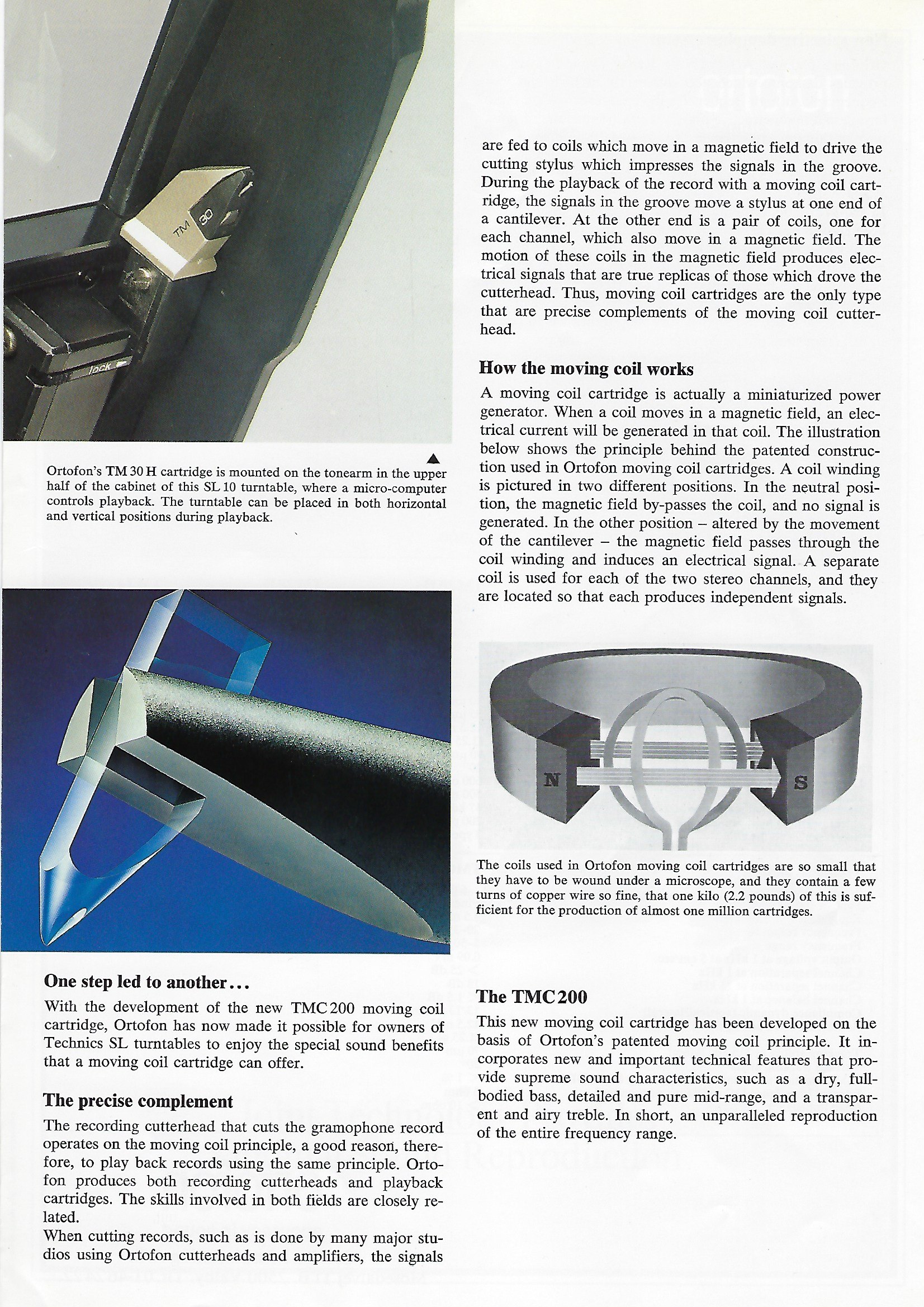 Mounting cartridge: application features