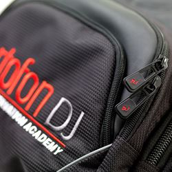 Embroided Ortofon DJ logo